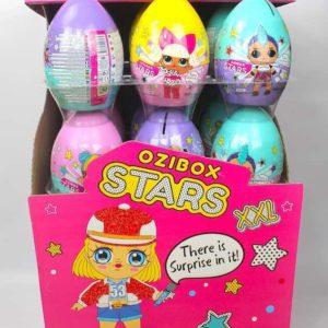 OZIBOX Stars Überraschungei XXL - Stars Sürpriz Yumurta XXL Stand