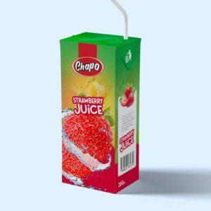 Chapo Frucht Getränke Erdbeer - Fruit Juices Strawbeery 200ml