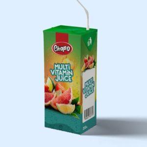 Chapo Frucht Getränke Multivitamin - Fruit Juices Multivitamin 200ml