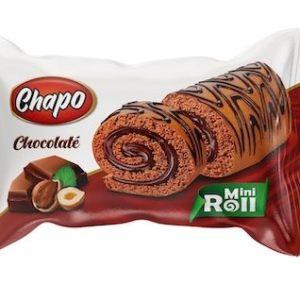 Chapo Kek Mini Roll 50 gr Chocolate