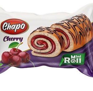 Chapo Kek Mini Roll 50 gr Cherry